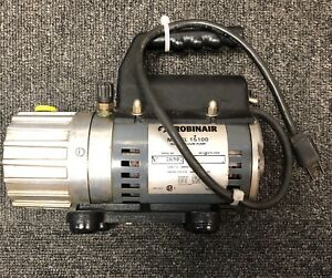 Robinair Model 15100 High Vacuum 1 2 Cfm Single Stage Pump Free Shipping