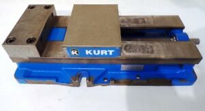 Kurt Anglock Vise 12 Jaw 8 Wide Manual Single Station No Handle