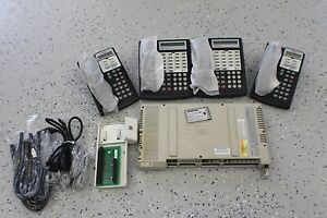 Avaya Lucent Partner Acs Business Phone System 4 Phones Refurbished