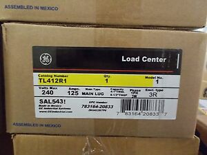 General Electric Tl412r1 4circuit Outdoor Panel