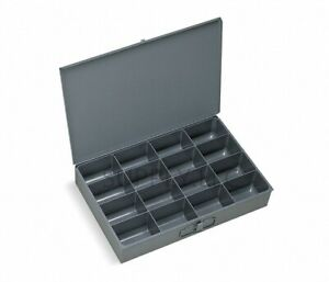 16 Steel Bin Tray Pigeonhole Compartments Parts Fittings Shop Metal Storage