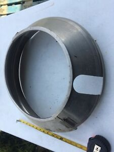 Hobart 80 Qt Mixer Splash Gaurd Bowl Cover Extension Commercial Stainless