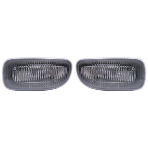 Fits 1999 2001 Jeep Grand Cherokee Pair Fog Lights Driver And Rh Bulbs Incl