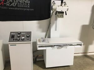 Americomp Veterinarian X ray System With Brand New Table