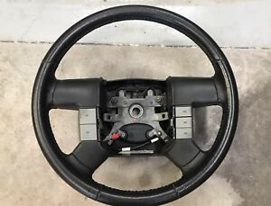 2008 Ford F 150 Black Leather Steering Wheel W cruise Control 04 08