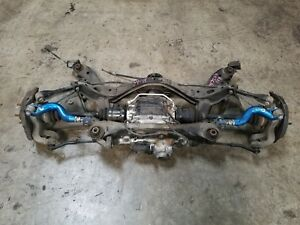 Nissan Skyline R33 Gtr Rear Subframe Differential Axles Suspension Arms Hicas