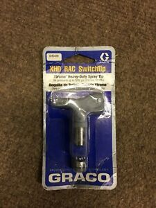 new Graco Xhd419 Rac Switchtip Xtreme Heavy Duty Spray Tip 7250 Psi 500 Bar