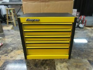 Snap On Yellow Mini Micro Roll Cab Tool Box Brand New Rare
