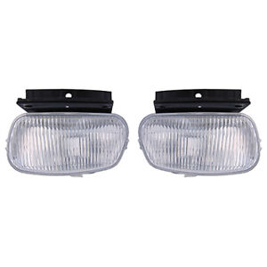 Fits 1998 2000 Ford Ranger Pair Fog Lights Driver And Rh Bulbs Incl