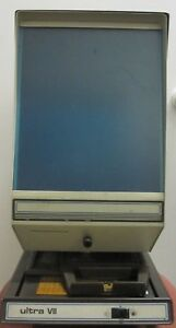 Vintage Micro Design Corporation Microfiche Reader Viewer Free Shipping