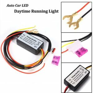Led Daytime Running Light Drl Relay Harness Auto Control On Off Switch Drl Ku