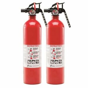 2 Kidde Dry Chemical Uscg Dot Approved Fire Extinguisher Ul rated 1 a 10 b c