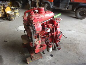 Detroit Diesel 3 53t Turbo Engine Runs Mint Low Hours 353t 3 53 Fire Pump