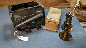 T 14a Nos Transmission Case And Gear Set 3 Parts Jeep Willys Cj Jeepster