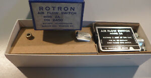 Rotron Air Flow Switch Model 2a Type 2450