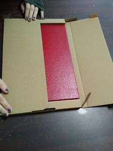 50 Corrugated Book Mailers With built in Bumpers 12 25 X 9 25 9 16 Depth