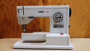 Pfaff 1222 Sewing Machine Leather Upholstery Denim See Description Parts Repair