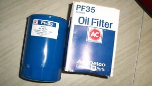 Vintage Pf35 Ac Delco Oil Filter Nos V8 Chevy And Gmc 6438384