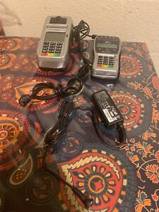 First Data Fd130 Duo Terminal Credit Card Machine W Pin Pad Fd 35