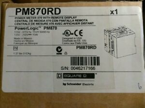 Square D Power Logic Pm870rd New Unopened