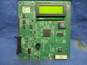 Faraday Mpc6 db2 Fire Alarm Display Board Sub assembly 1 Year Warranty