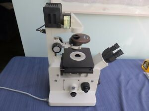 Nikon Diaphot tmd Inverted Phase Contrast Research Microscope With 4 Objectives