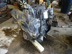 Perkins 1004 40 Diesel Engine Runs Exc Video Aa 4 0 L Hyster H155 Forklift