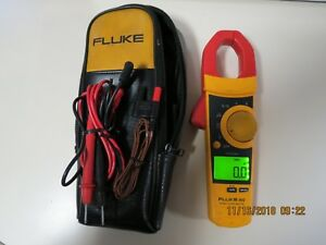Fluke 902 True Rms Hvac Clamp Meter In Good Working Condition