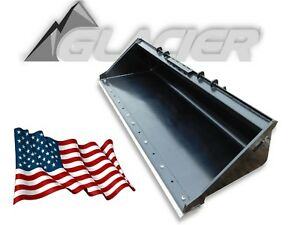 Glacier Extreme Duty Skid Steer Bucket Toughest Bucket On The Market