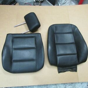 Bmw E36 318i Convertible Front Seat Cushion Set Upper And Lower