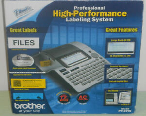 Brother P touch Pt 2700 Professional High performance Labeling System Ships Free