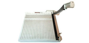 Boston Heavy Duty 12 Guillotine Paper Cutter Trimmer 2612 Ships Free