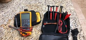 Fluke 789 Processmeter With Fluke Tlk289 Industrial Master Test Lead Set