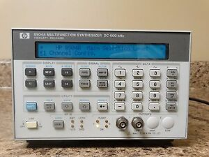 Agilent Hp Keysight 8904a Multifunction Synthesizer Dc 600 Khz Tested Working