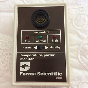 Thermo Scientific Forma 290003 Audible Visual Temp Power Monitor Untested Parts
