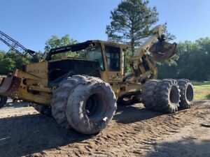 2002 Tigercat 635 Tandem Log Skidder Rare Tiger Cat Duals Cummins Dsl
