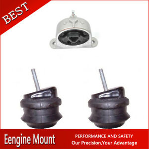 Westar trans Engine Motor Mount 3x For 2005 Chrysler Pacifica V6 3 8l 230cid