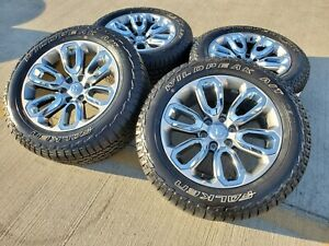 20 Ram 1500 Oem Brand New 2019 Stock Wheels Rims Tires A T 6x139 6x5 5 Limited