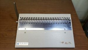 Gbc General Binding Corp 16 db Plastic Comb spine Finisher Manual Combbind