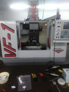 Haas Vf 1 Vertical Machining Center 4th Axis Ready Vf1 0 2 Cnc Mill Vmc