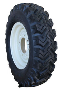 4 New 7 50 16 Narrow Snow Tires On Skid Loader Wheels Replace 12 16 5 Kit T