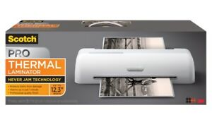 Scotch Pro Thermal Laminator Up To 12 3 Width 2 Roller System Tl906
