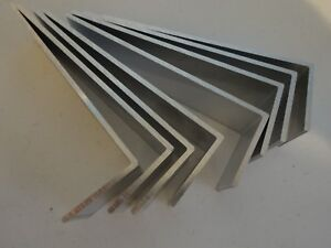 2 X 6 Aluminum Angle 1 8 Thick 1 1 2 In Length 8 Pieces