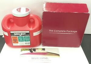 Sekurit Stericycle Sharps Disposal Mailback System 1 Gallon Complete