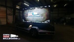 5 x10 Led Billboard Trailer P8 With Hydraulic Lift Super Bright Youtube