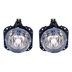 Fits 2002 2005 Mitsubishi Eclipse Pair Fog Lights R l Driver And Rh Capa