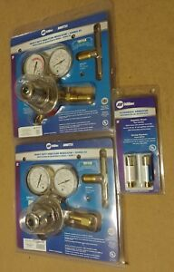 Miller Smith Regulator Set 40 175 540 Oxygen 40 15 510 Acetylene W H753 Set New