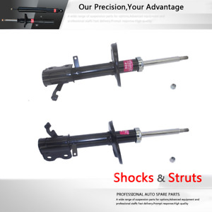 Set Of 2 Front Pair Struts Shock Absorber Kyb Fits 1993 1997 Toyota Dx Corolla