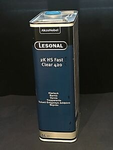 Lesonal Hs Fast Clear 420 Clearcoat Lacquer