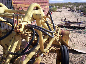 Hydraulic Front End Loader Vintage Farm Tractor To20 to30 Others Bucket Valves